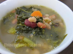 Mixed Beans Potato Vegetable Soup