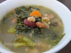 Mixed Beans Potato Vegetable Soup