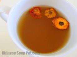 Hawthorn Berry Honey Tea