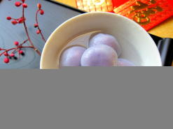 Purple Sweet Potato Dumpling (Tang Yuan)
