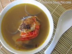 Potato and Tomato Onion Fish Soup