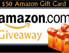 $50 Amazon Gift Card GIVEAWAY for My Readers
